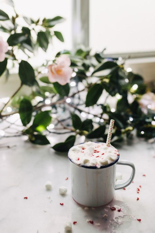 spiked unicorn white hot chocolate recipe
