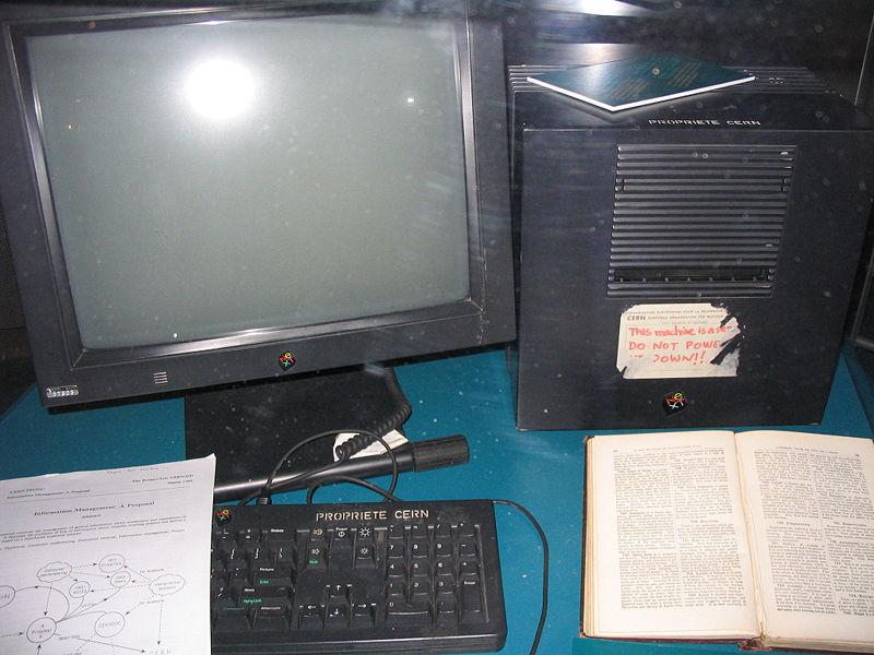 primer servidor web de la historia