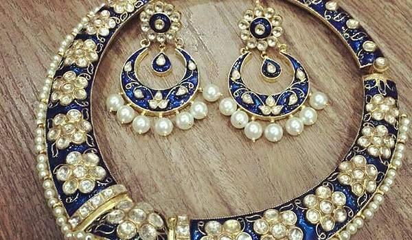 Meenakari Jewelry Origin History Types Amp Design