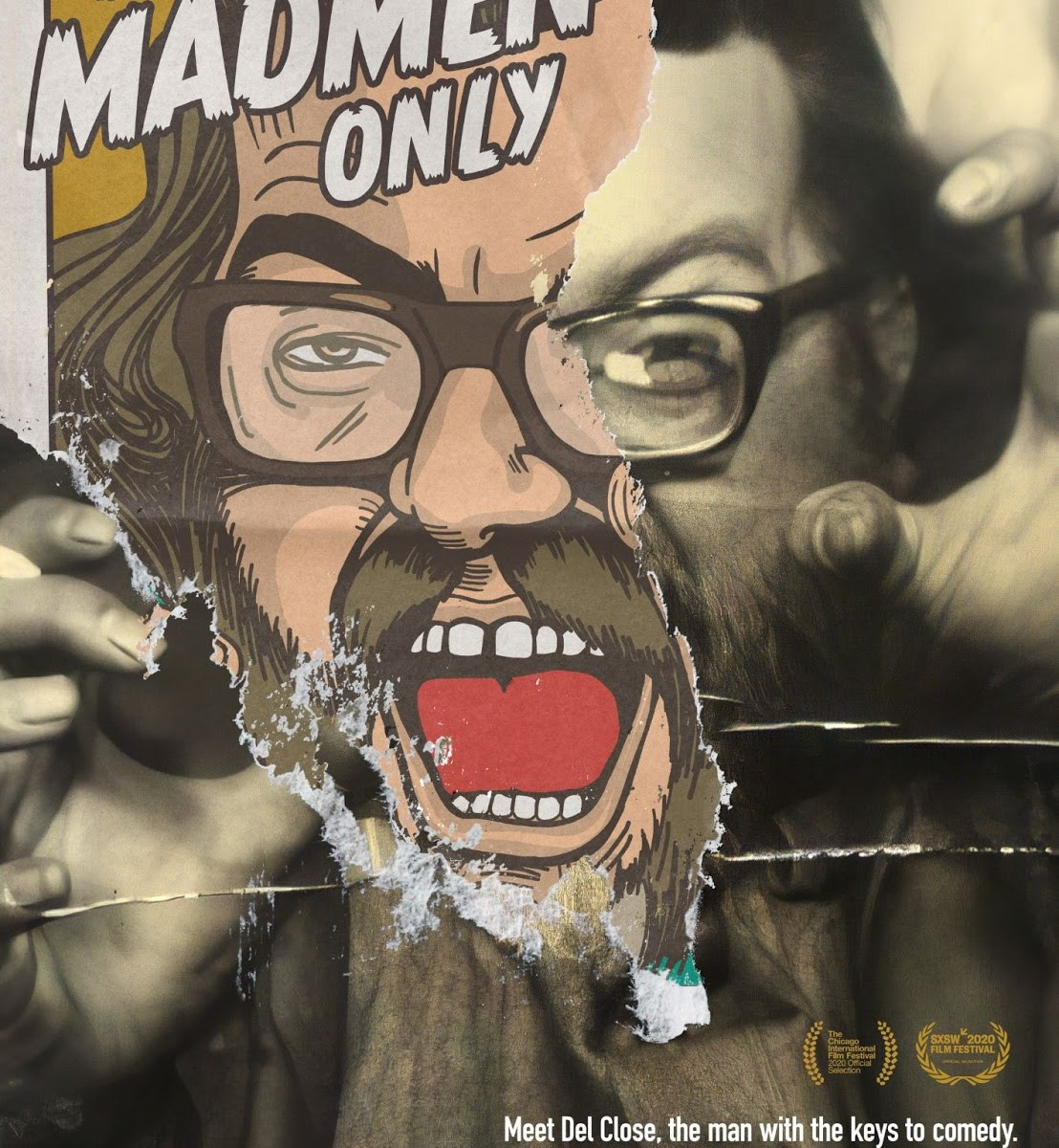 FOR MADMEN ONLY official movie poster