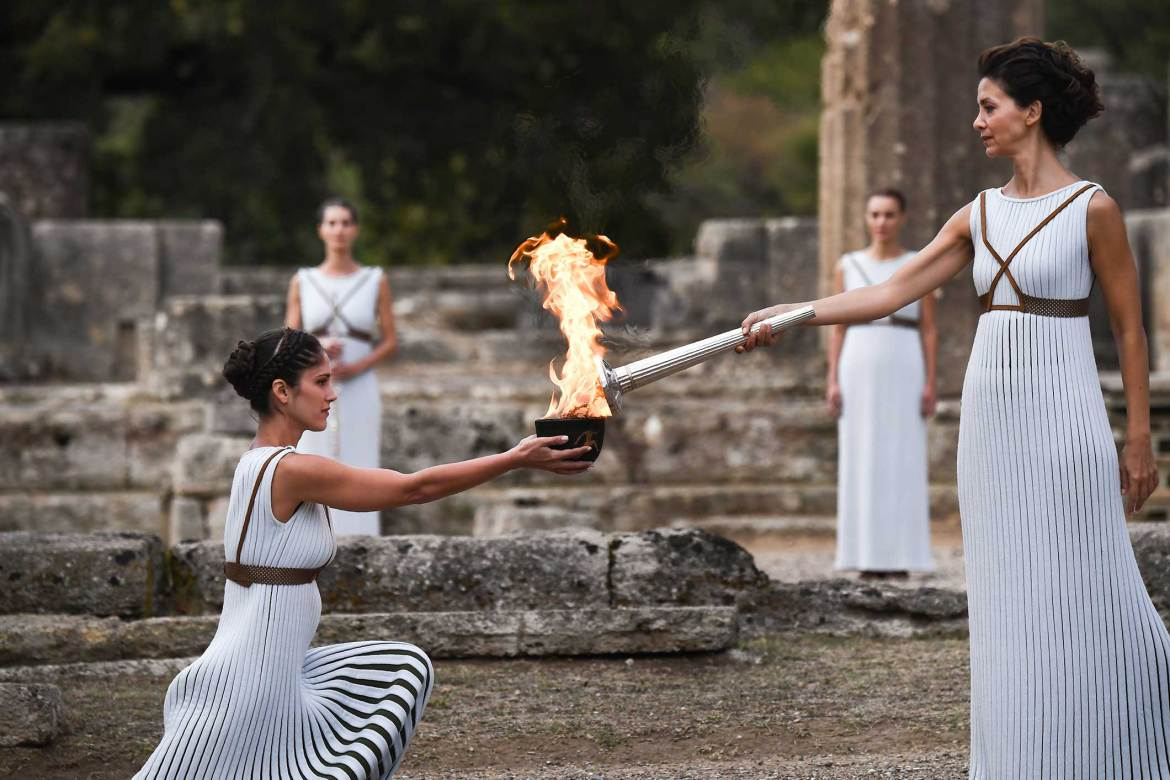 The journey of the Olympic flame to PyeongChang 2018 begins!