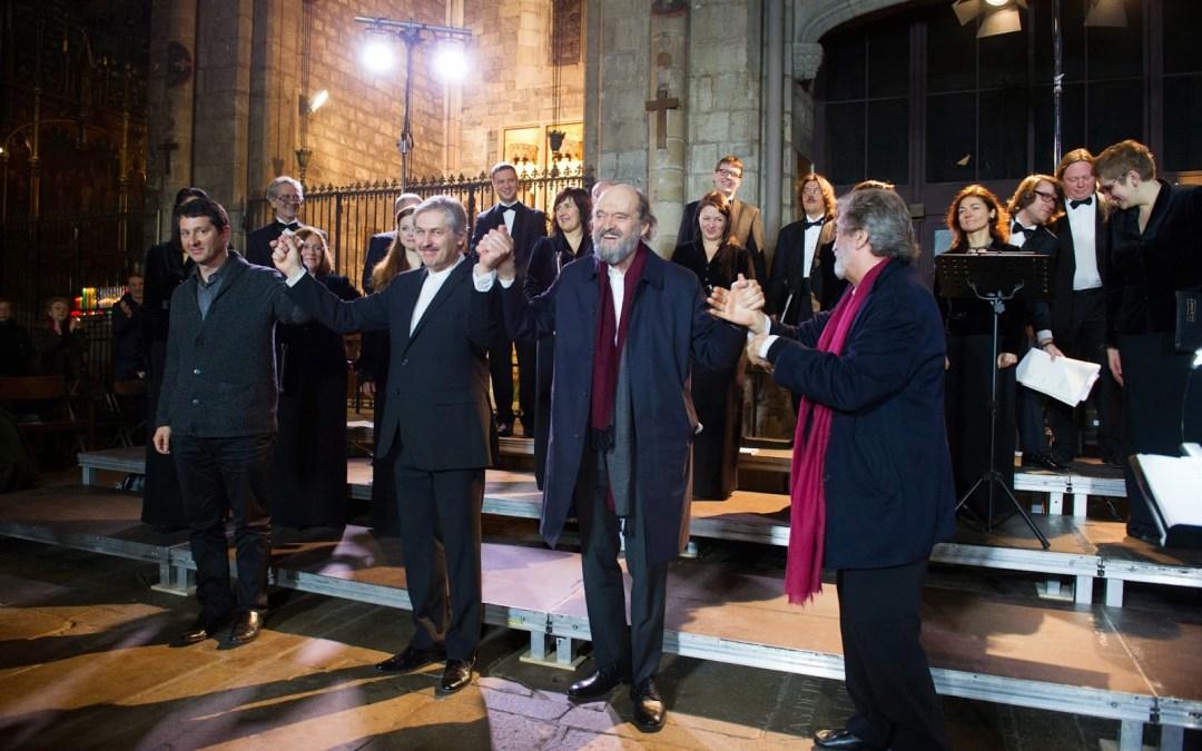 Ciclo Arvo Pärt en Barcelona (I): Pärt + Vivancos = un diálogo