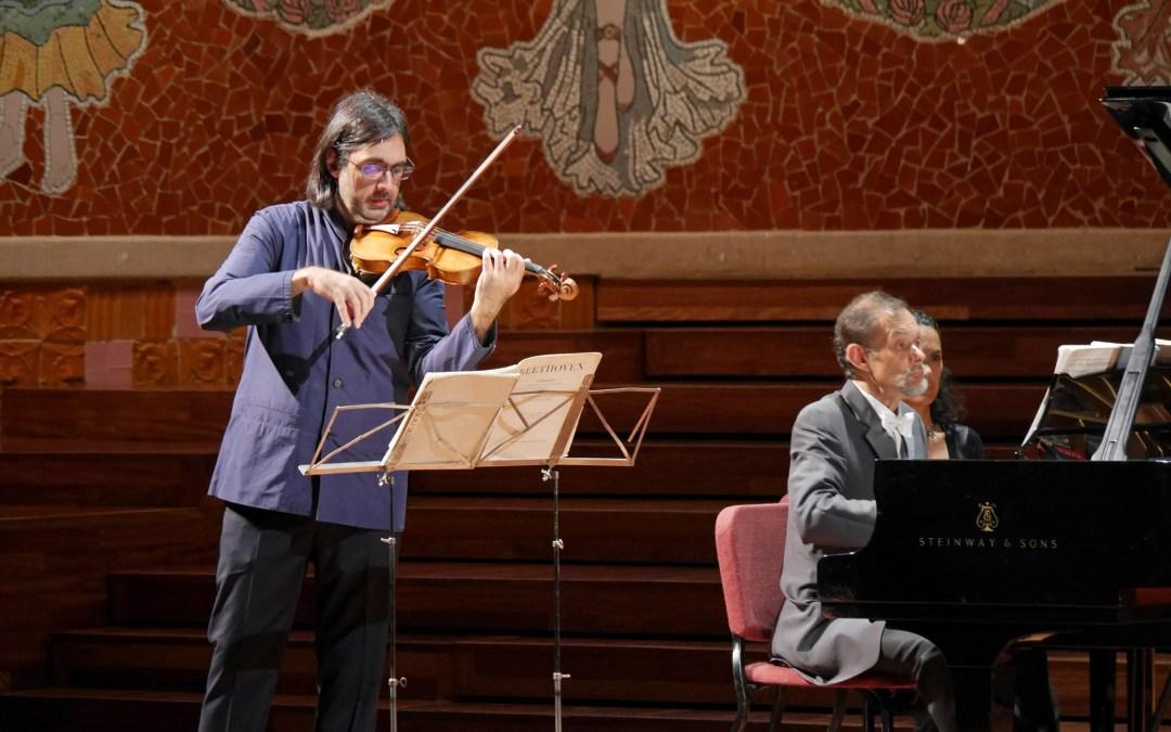 Beethoveniada con Kavakos y Pace en el Palau