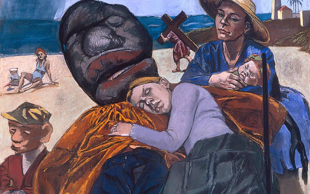 Paula Rego: historia de la pintura. Exposición en La Virreina (Barcelona)