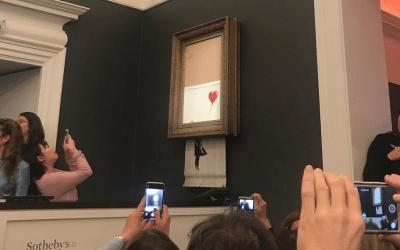 Morder la mano que te da de comer: Banksy y el sistema del arte