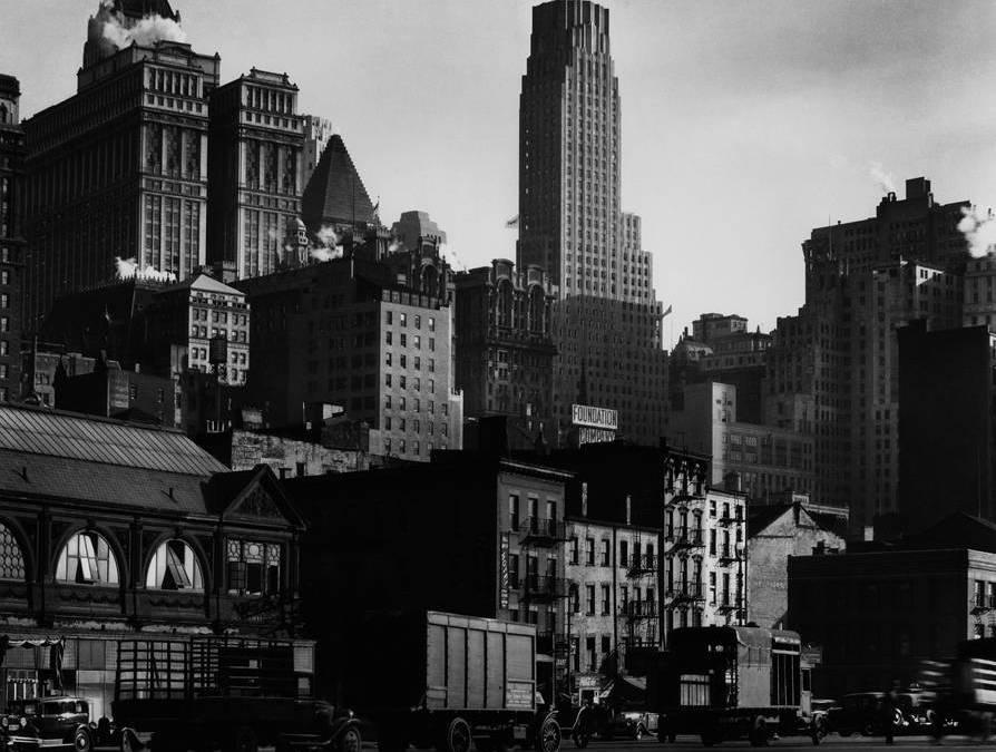 West Street, 1932 - © Getty Images/Berenice Abbott