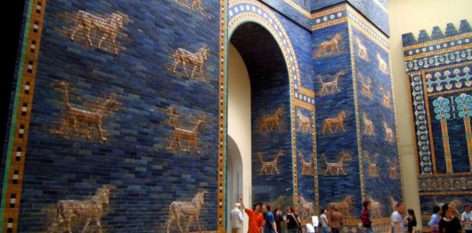 The Ishtar Gate In Babylon A Huge Statement Cultural