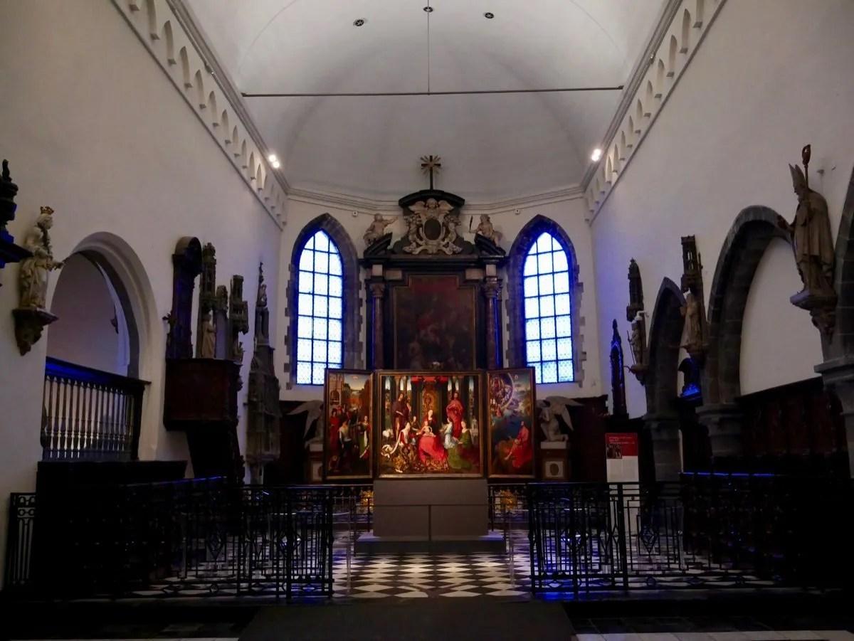 Memling Altarpiece Bruges