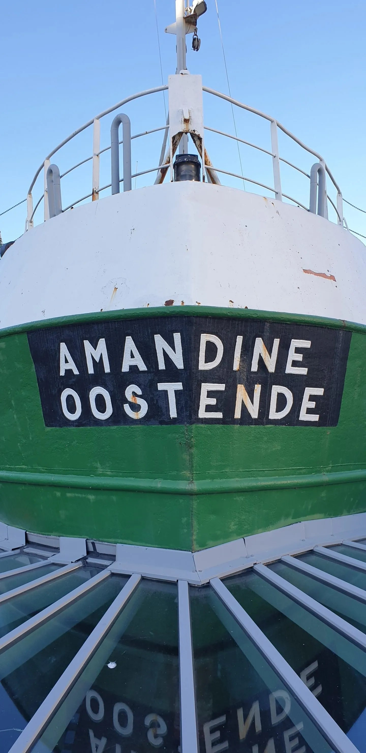 Amandine Green fishing trawler Ostend