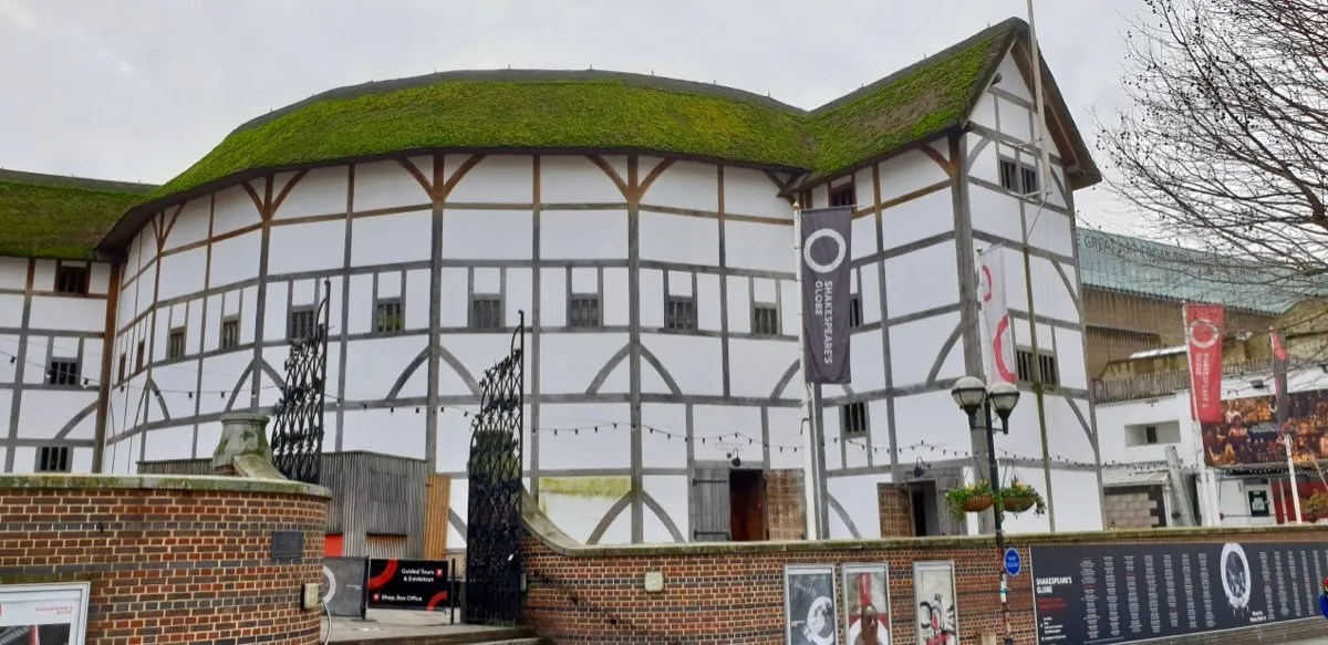 Thatched Half timbered theatre