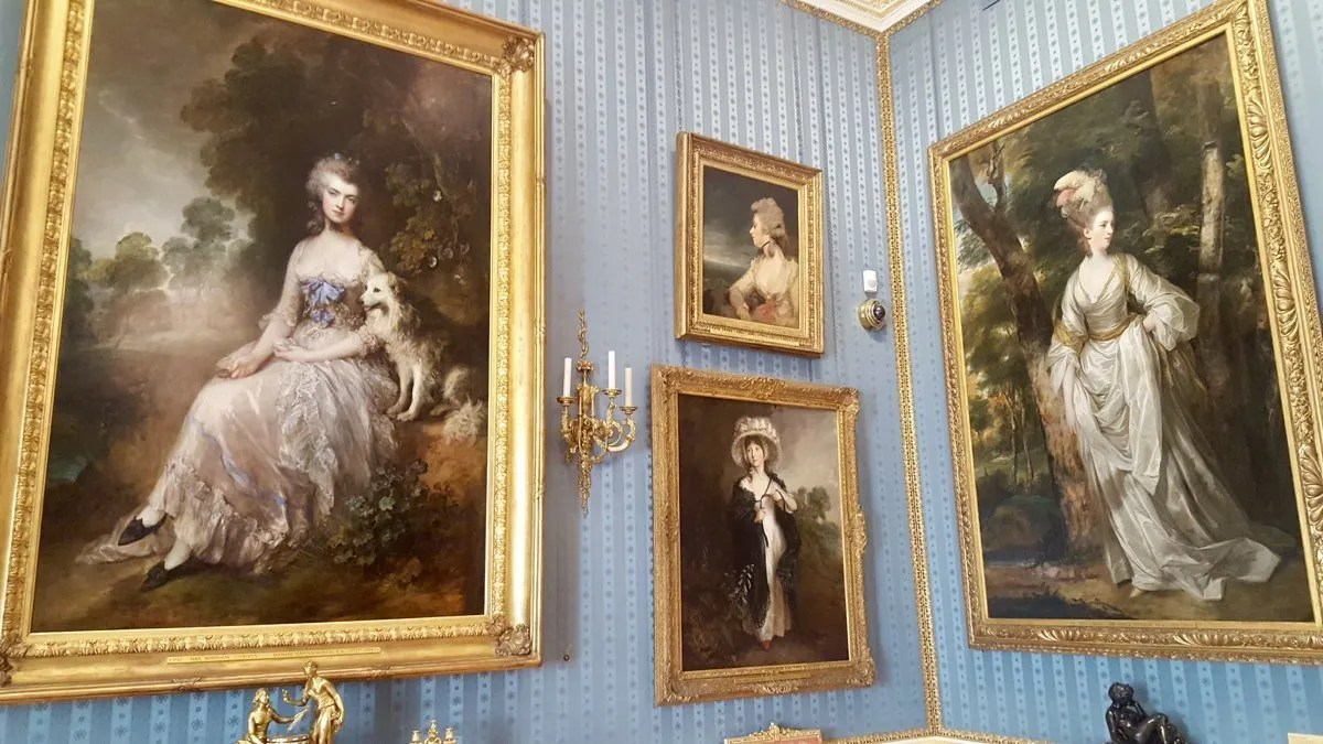 Portraits of Perdita by Gainsborough at the Wallace Collection London