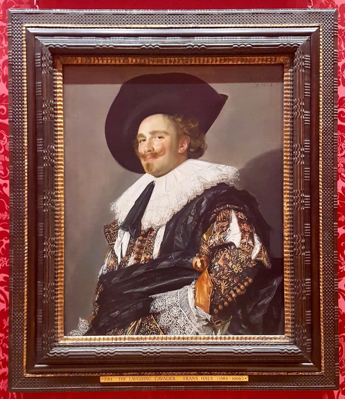 Laughing Cavalier painting by Frans Hals