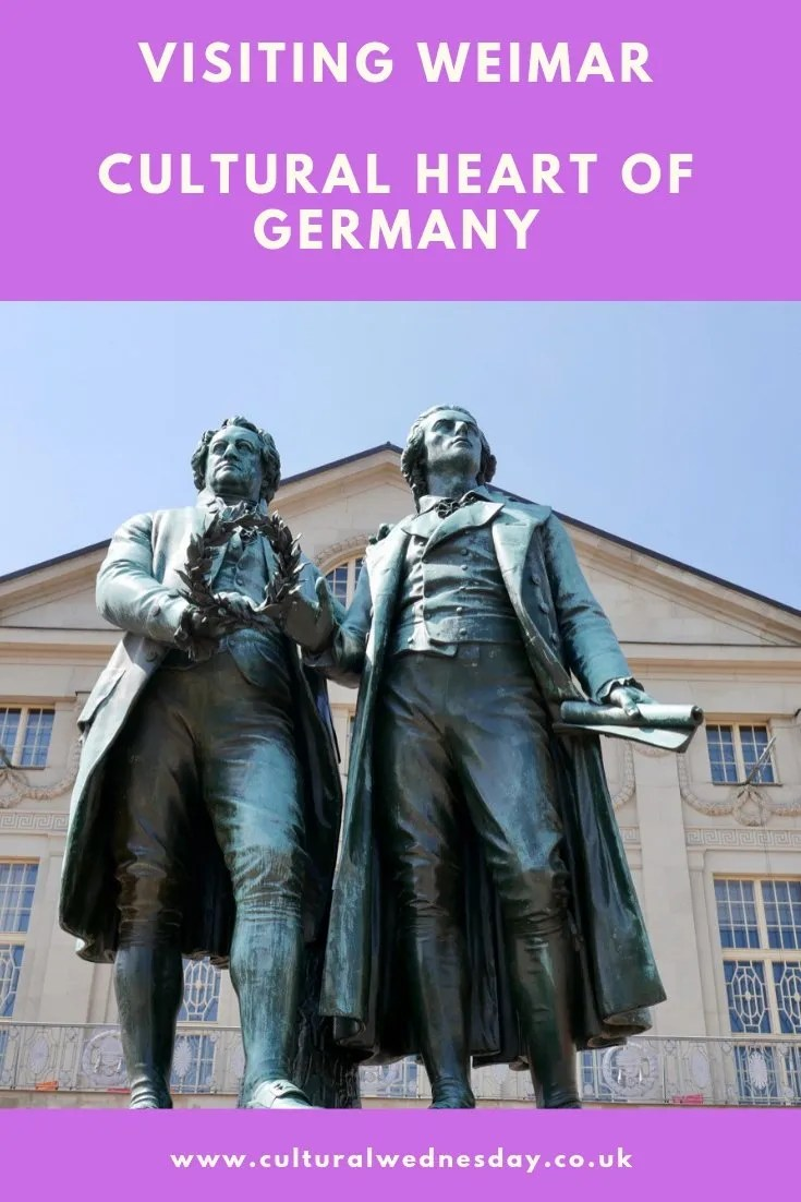 Visiting Weimar, Germany