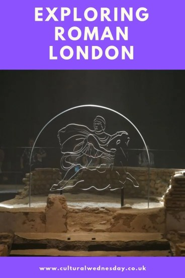 London is a Roman city.  Exploring Roman London it is possible to walk down Roman roads, see the Roman city wall, find a temple, a market hidden in Diagon Alley and a spa. #London #RomanLondon #DiagonAlley #TravelTour