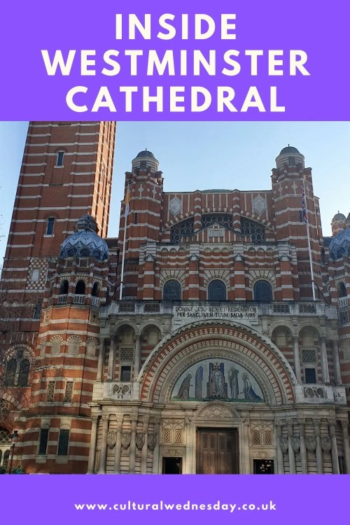 Inside Westminster Cathedral you will find a wealth of mosaics and the opportunity of views over the rooftops to Westminster Abbey and Buckingham Palace. Even better it is all free #London #Catherdral