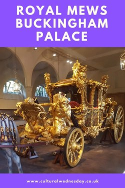 Visit the Royal Mews Buckingham Palace all year round to see golden coaches, cars and the Queen's horses #London #RoyalFamily