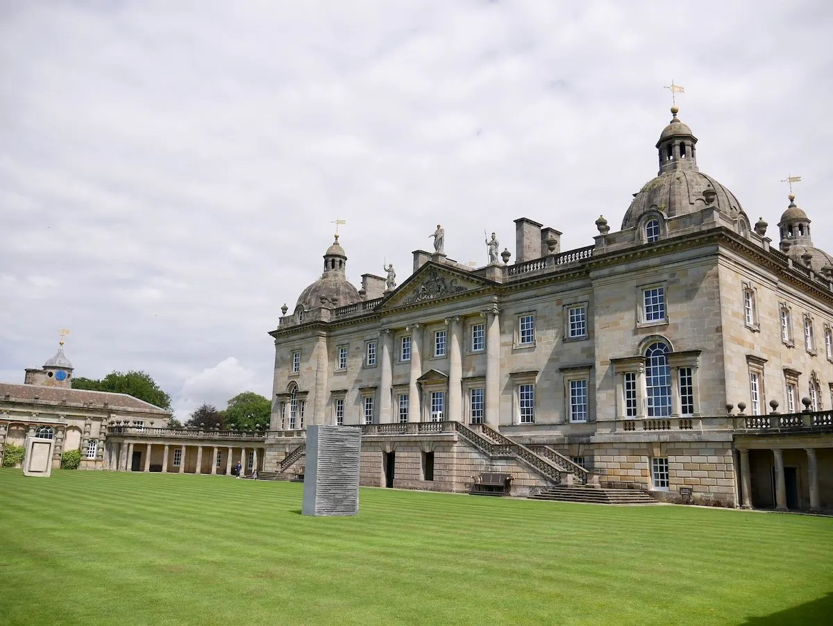 Houghton Hall Norfolk with Anish Kapoor sculptures