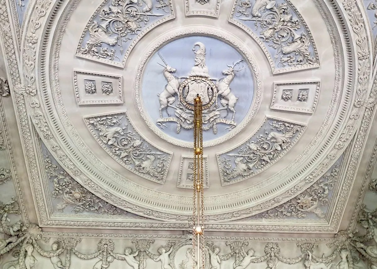 William Kent ceiling Houghton Hall