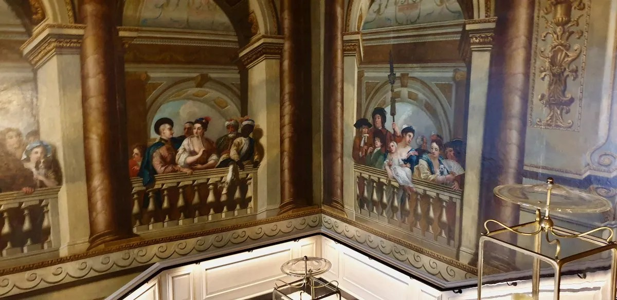 King's Staircase at Kensington Palace painted by William Kent
