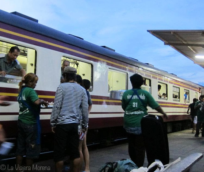 Surat Thani station