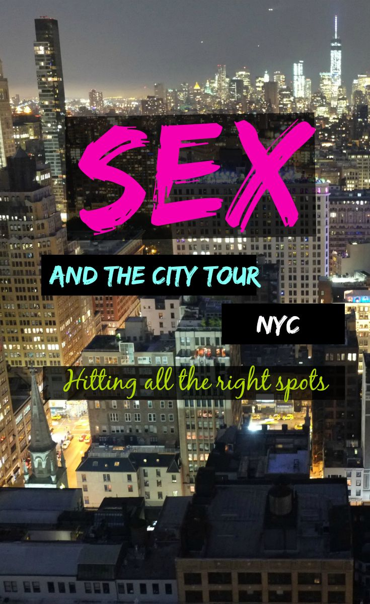 SATC Tour NYC Pinterest
