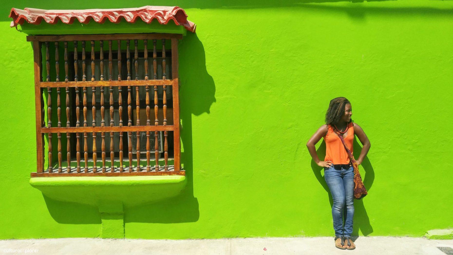 Chanel Green Wall   Cultural Xplorer