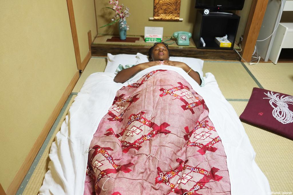 futon bed ryokan