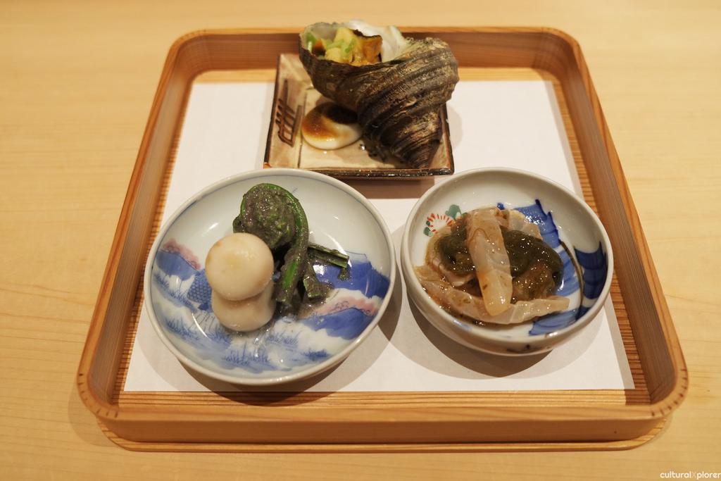 kaiseki japanese foods