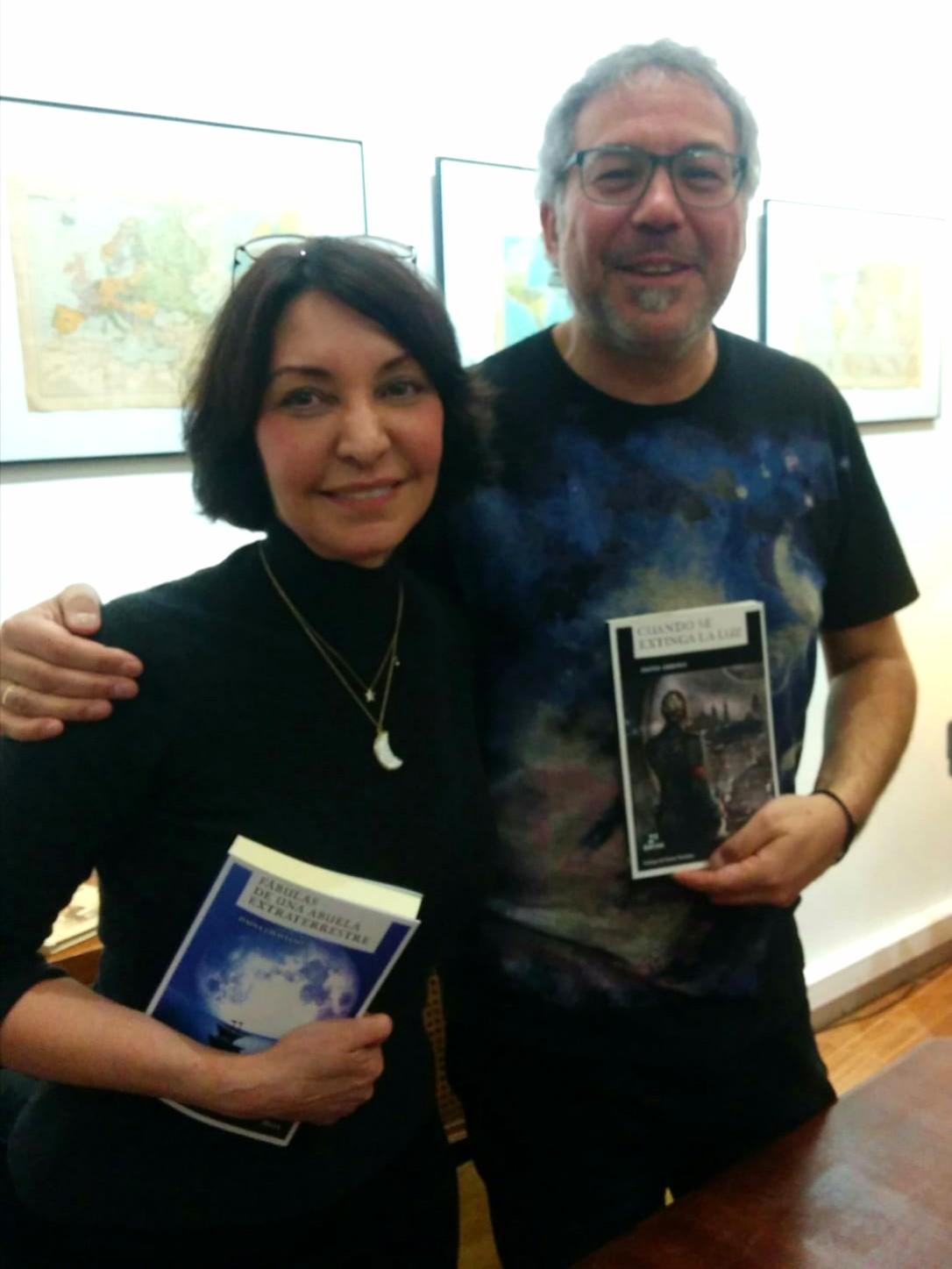 Entrevista con Daína Chaviano y Dioni Arroyo