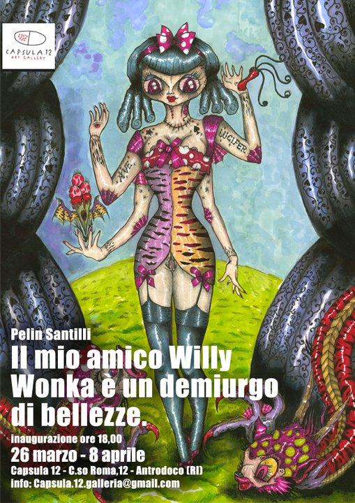 """""""Il mio amico Willy Wonka è un demiurgo di bellezze"""" di Pelin Santilli"""