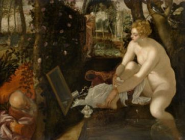 Susanna e i vecchioni, Tintoretto, 1550