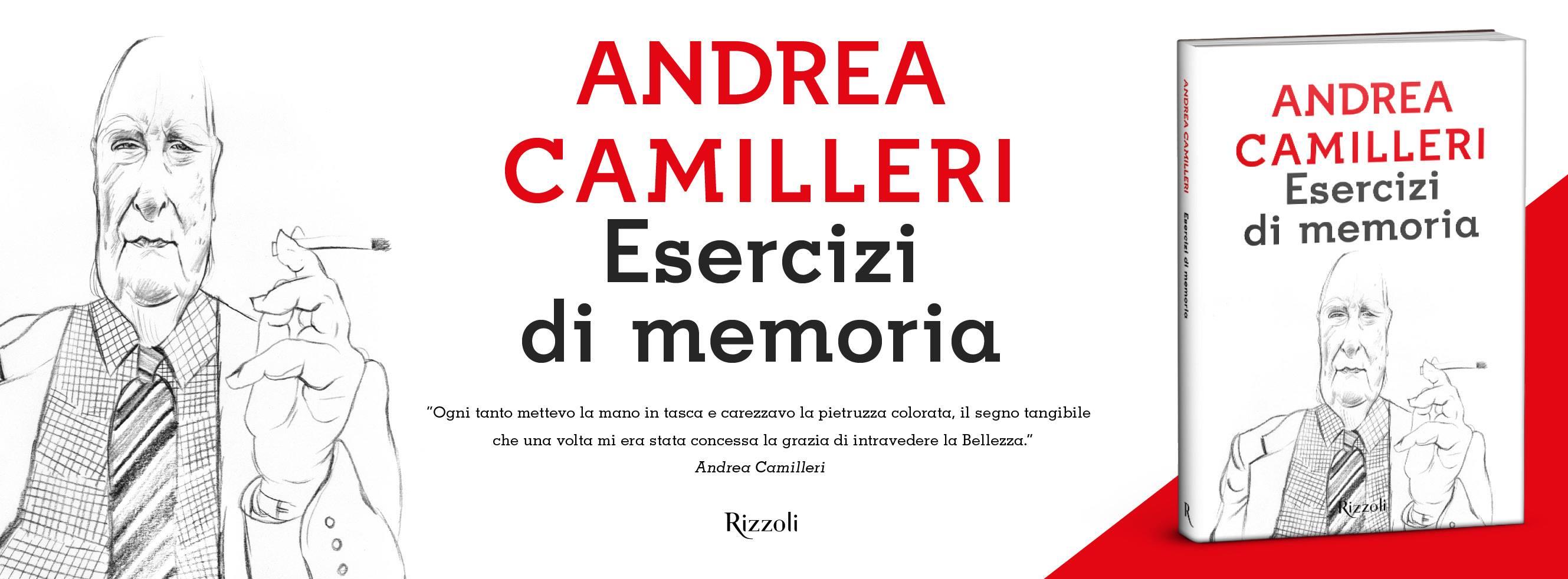 """Camilleri E Il Suo Ultimo Libro """"Esercizi Di Memoria"""""""