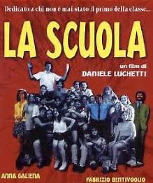 """La locandina del film """"La Scuola"""""""