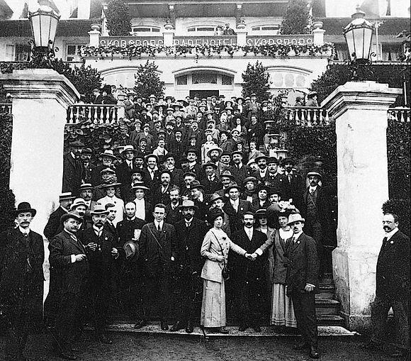 Aleksandra Kollontaj - congresso 1910