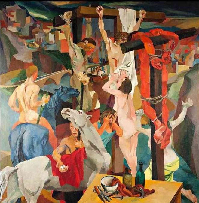 Renato Guttuso, Crocifissione, 1940-41
