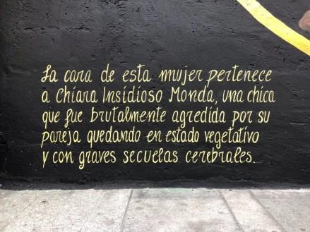 chiara insidioso monda murale valencia
