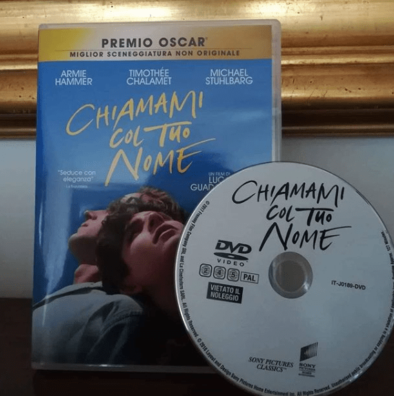 chiamami col tuo nome home video