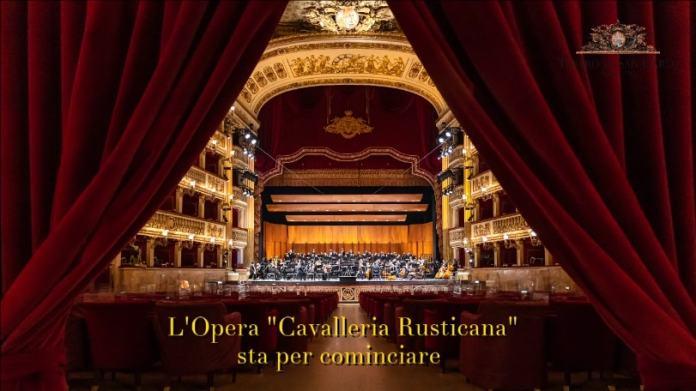 Cavalleria Rusticana San Carlo streaming