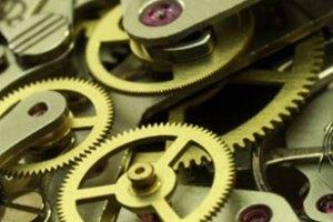 Engrenagens de um relógio de bolso/pulso