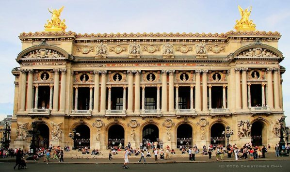 Opera Nacional de París. Fotografía: https://www.flickr.com/photos/chanc/