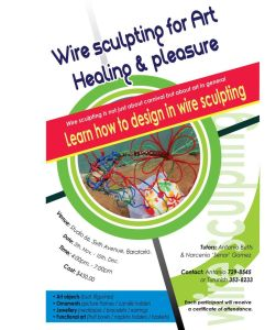 Wire Sculpting for Healing Workshop
