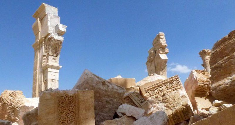 Patrimoine- Arc de Triomphe de Palmyre-Syrie