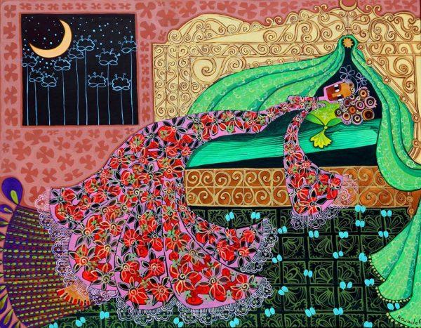 Djahida Houadef -Baldaquin-