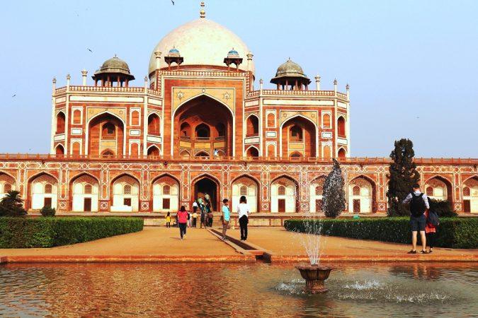 Tombe de Humayun- Delhi
