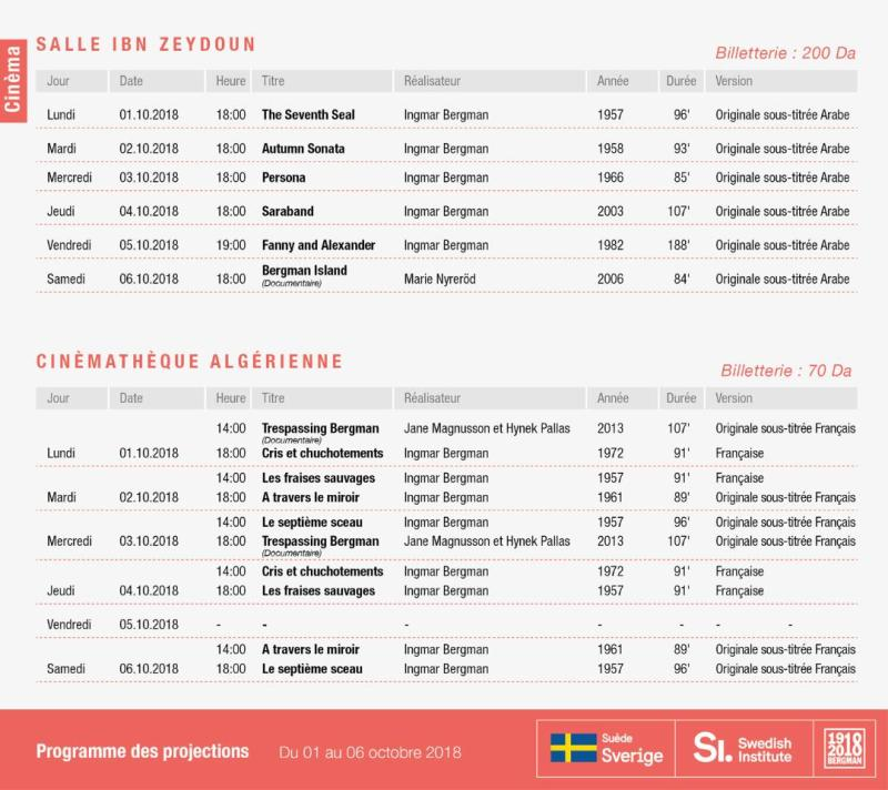 Ingmar Bergman Programme
