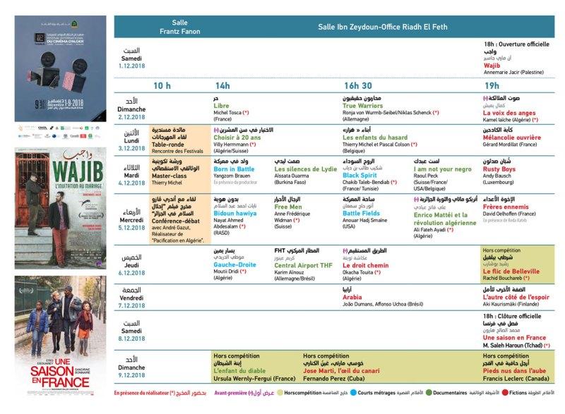 FICA 2018 Programme