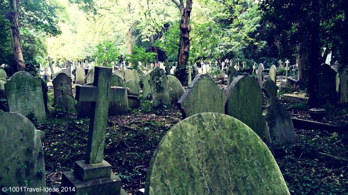 A visit to Highgate Cemetery