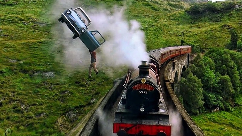 HARRY POTTER SAGA : The most beautiful filming sites  !