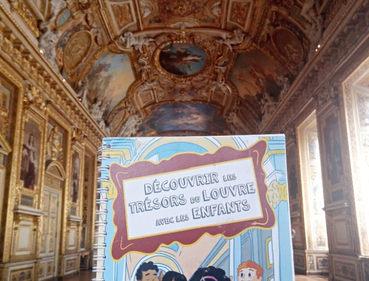 """Our book """"Exploring the Louvre with kids"""""""