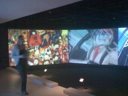 anime video installation